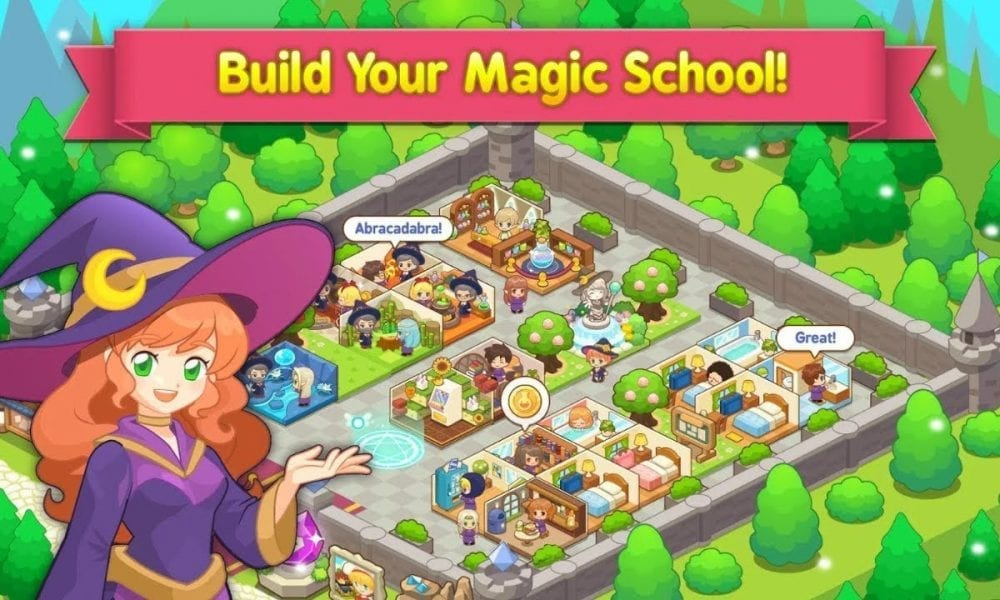 magic school story